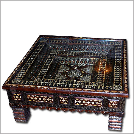 Moroccan coffee table Moroccan table Moroccan camel bone table