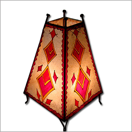 Moroccan henna Lamp, Moroccan skin lamp, Moroccan lamps.