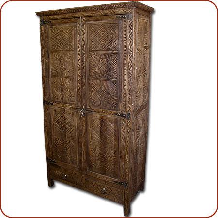 Moroccan Berber Furniture Moroccan Cedar Armoire