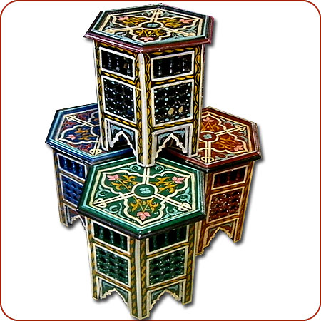 Delightful Name: Zouak Painted Table