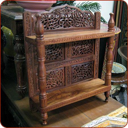 Carved Wall Shelf Moroccan Furniture Moroccan Decor