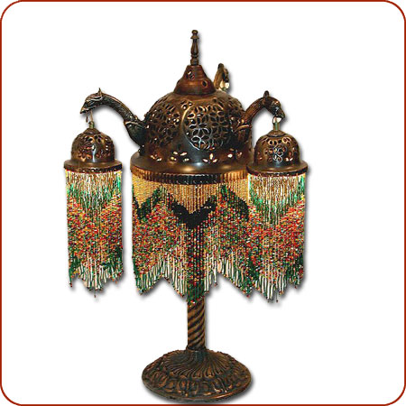 Damascus table lamp 4