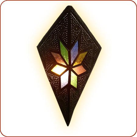 Moroccan wall sconce, moroccan lighting, moroccan lantern, moroccan lamp, moroccan henna sconce ...