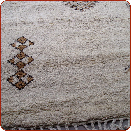 A Berber carpet similar to the one I bought in Morocco and later ruined