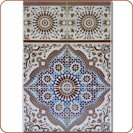 Moroccan tile moroccan mosaic tiles moroccan fountain Moroccan ceramic floor tile