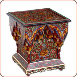 Handpainted moroccan table, moroccan table, moroccan furniture, moroccan coffee table, moroccan tea table,