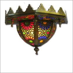 Lamrah Brass Wall Sconce