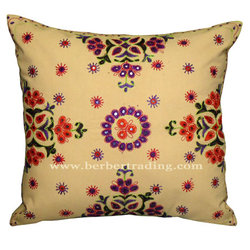 Mraya pillow (Pale yellow)