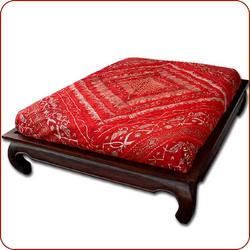 Opium Bed, Opium teak bed, Moroccan bedding, US Based and Ships Nationwide! :  moroccan bedding bed teak furniture teak