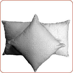 White Cutout Pillow