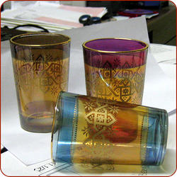 Mosaico Tea Glasses