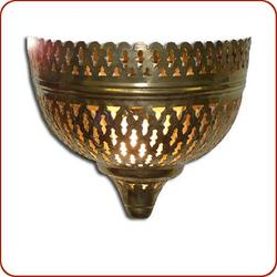 Mellah Moroccan Brass Wall Sconce