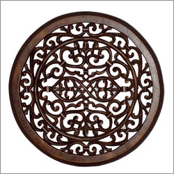 Wood Carved Wall Decor wood wall plaque, moroccan wall decor & accents
