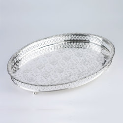 Moroccan Oval Tea Tray