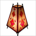 Diamonds Henna Lamp