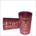 Moresque Moroccan Tea Glasses - Fuscha