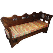 Diwane Sofa with a back