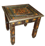 Berber Moroccan Corner Table