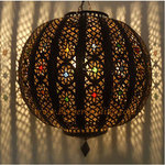 Mysterious Bowl Moroccan Lamp
