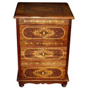 Inlaid night stand