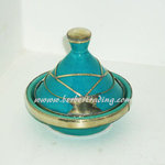 Arabian Ceramic Tagine -Green