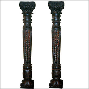 Hand Carved Columns