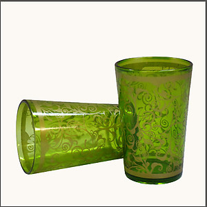 Shama Green Tea Glasses