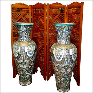 Riad Large Antique Vase