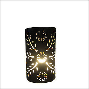 Sun Aged Metal Wall Sconce