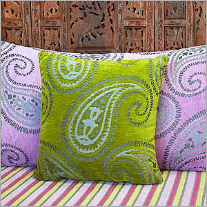 Cashmiri Anise Pillow