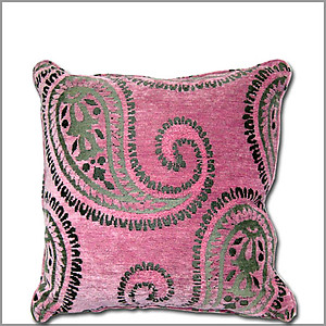 Cashmiri Pink Pillow