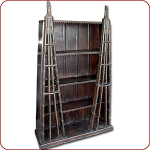 Ox Cart Bookcase