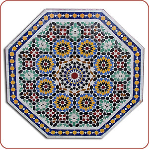 Andalous Mosaic Table