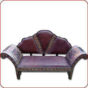 Gnawa Leather Sofa