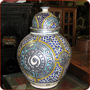 Fes Ginger Jar