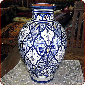 Painted Safi Vase