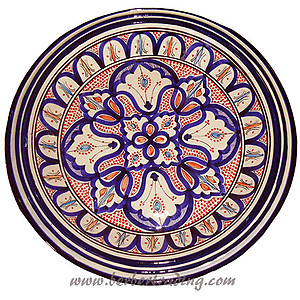 Moorish Ceramic Plate