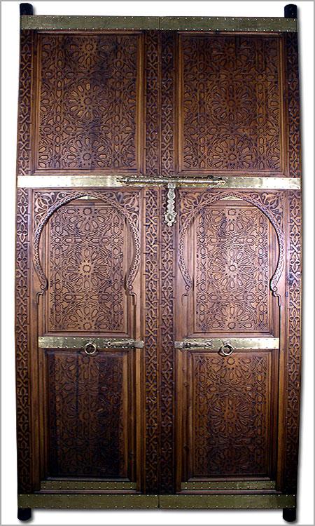 Click To Enlarge & Moroccan door moroccan oversized doormoroccan carved door