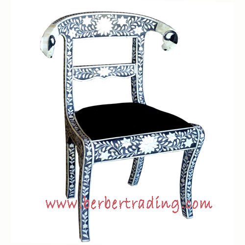 Ramu0027s Head Inlaid Chair