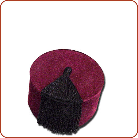 Authentic Moroccan Fez Hat d47c1f00ec7