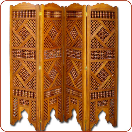 Moroccan room divider Moucharaby screen Moroccan furniture