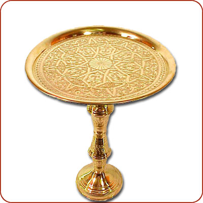 Brass Tea table