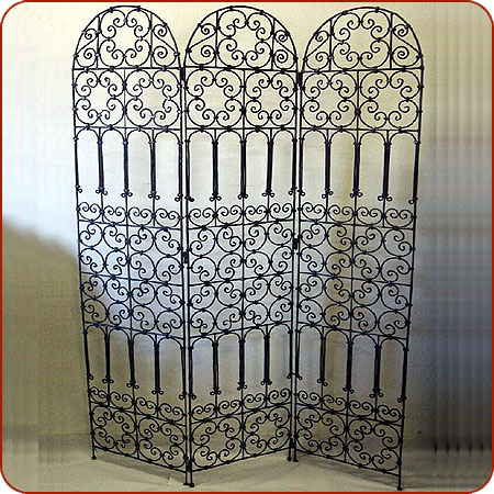 iron room dividers