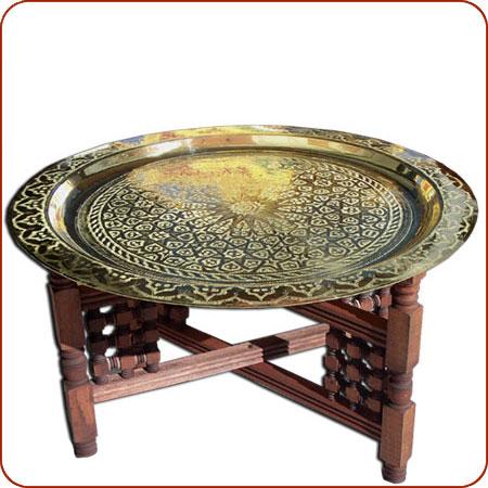 Incroyable Name: Tayfour Brass Table