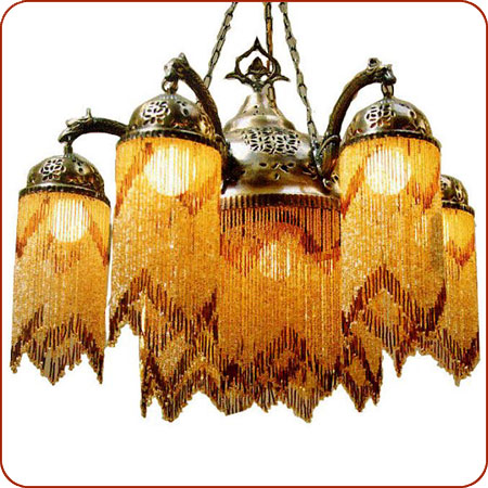 Moroccan lighting syrian chandelier syrian lighting moroccan wall damascus chandelier 7 aloadofball Image collections