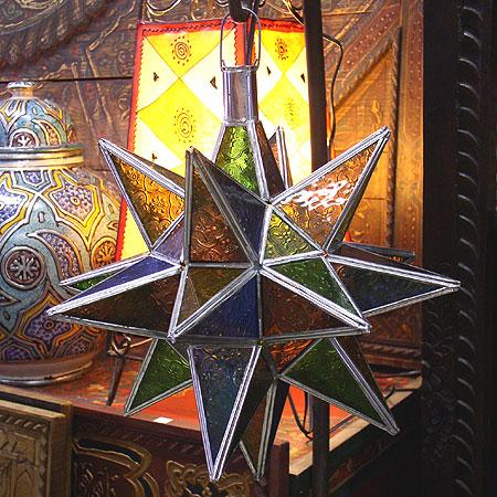 Moroccan Moravian Star Lamp