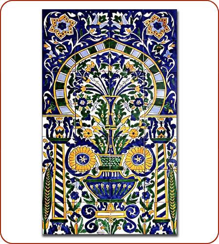 Moroccan tile Moroccan mosaic tile Wall tile murals Tunisian