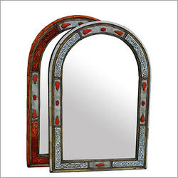 Arched Bone Mirror