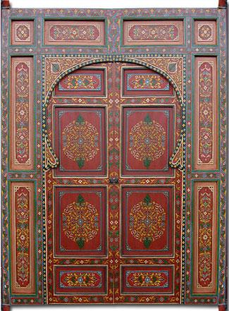 Name Moroccan Painted Door & Moroccan door moroccan painted door moroccan oversized door