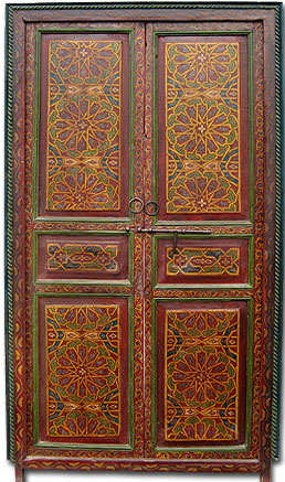 Name Zouak Moroccan Painted Door & Moroccan door Moroccan painted door moroccan carved door
